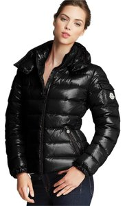 Moncler Black Bady Jacket Coat