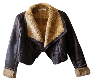 Costa Blanca Dark brown Leather Jacket