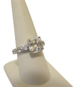Jean Dousset 7.66ctw Absolute Asscher-Cut Ring size 9