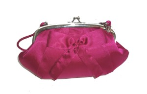 Kate Landry Evening fuchsia Clutch