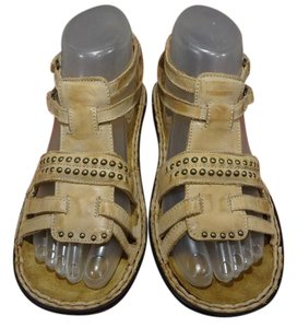 Naot Comfortable Studded CAMEL ( BEIGE) Sandals