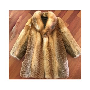 Russian Red Fox Coat Fur Coat