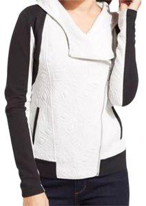 DKNY Color Block Black White Jacket