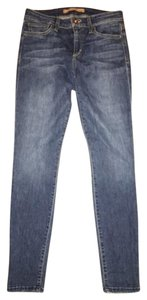 JOE'S Jeans The Icon Ankle Mid Rise Medium Wash Stretchy Like New Skinny Jeans-Medium Wash
