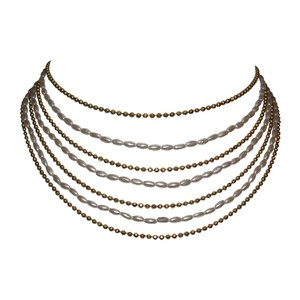 Chanel Chanel Multi-Strand Bib Necklace