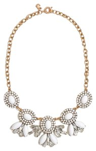 J.Crew cameo chandelier necklace
