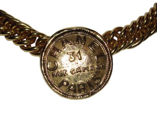 Chanel Chanel Address Coin Necklace Image 1