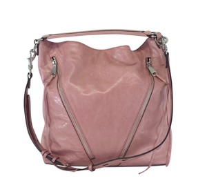 Rebecca Minkoff Pink Leather Dual Zip Tote