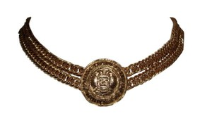 Chanel Chanel Eagle Crest Coin Necklace