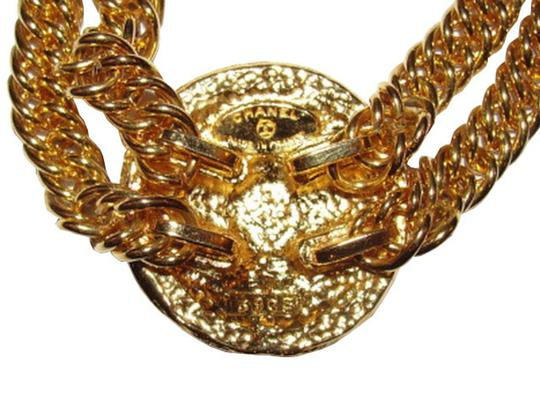Chanel Chanel Eagle Crest Coin Necklace Image 3