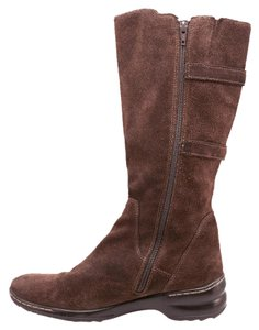 Söfft Suede Cushioned Insole Brown Boots