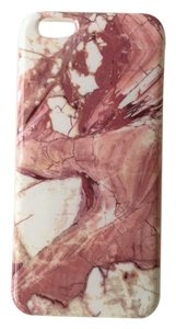 Pink Marble Natural Stone Iphone 6/6s PLUS Case