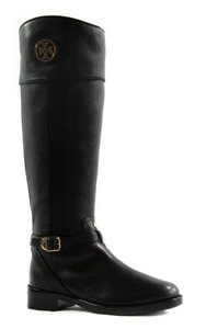 Tory Burch Teresa Tumbled Black Boots