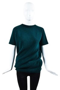 Prada Forest Ribbed Sweater