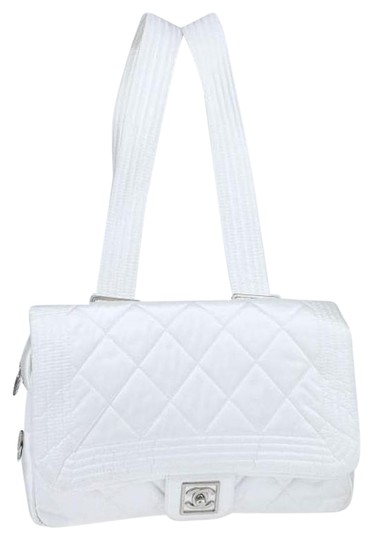 Preload https://item1.tradesy.com/images/chanel-backpack-classic-flap-sportline-sport-line-ski-quilted-medium-m-white-ivory-grey-silver-nylon-20092910-0-2.jpg?width=440&height=440