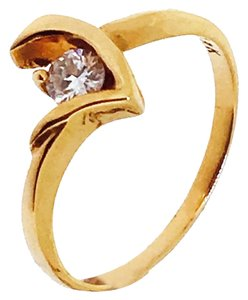 Other 18K Pink Gold Diamond Ring