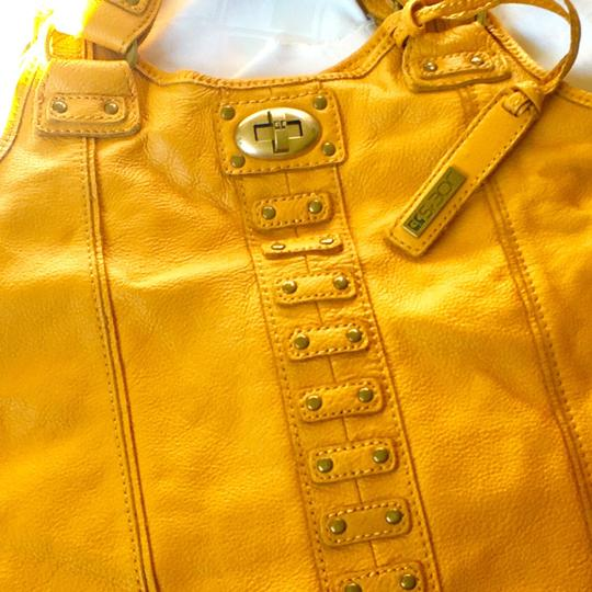 JOE'S Jeans Satchel in Mustard Image 1