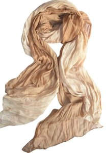 Other New Beige & Ivory Scarf Long P2289