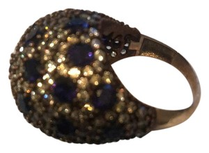 a beautiful Ring gemstone Sapphire sterling Silwer