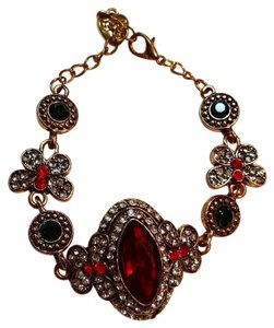 Betsey Johnson New Betsey Johnson Chunky Crystal Bracelet J3022