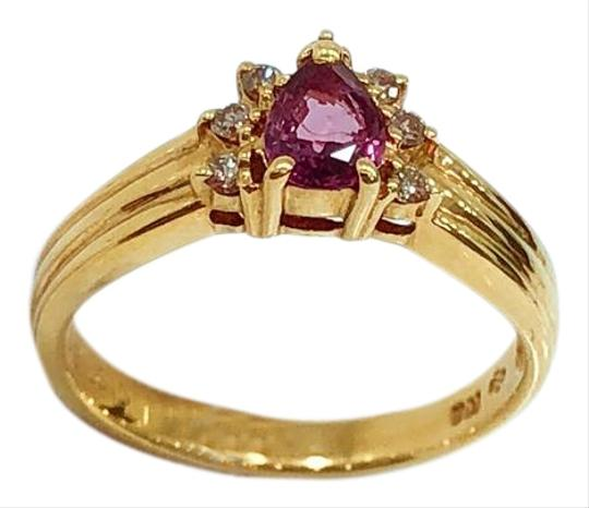 Preload https://img-static.tradesy.com/item/20093105/18k-yellow-gold-tourmaline-diamonds-ring-0-5-540-540.jpg