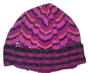 Missoni Missoni New Zip Zag Striped Hat