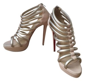 Christian Louboutin Louboutin Pumps Nude Sandals