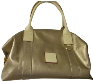 Dooney & Bourke Weekender Duffle Tote in Gold