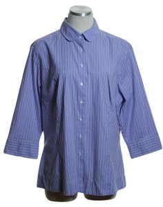 Riders by Lee Button Down Shirt Purple