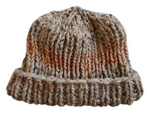 Handmade Knitted Beanie Hat Multi-Color Unisex