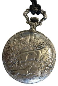 Arnex Arnex Swiss Made Pocket Watch with Hunting Scene
