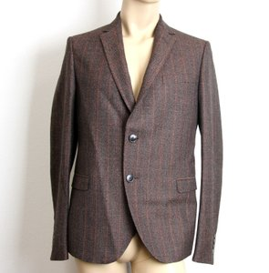 Gucci Brown New Men's Wool Suit Coat Jacket Blazer 50r/ Us 40r #296852 Groomsman Gift