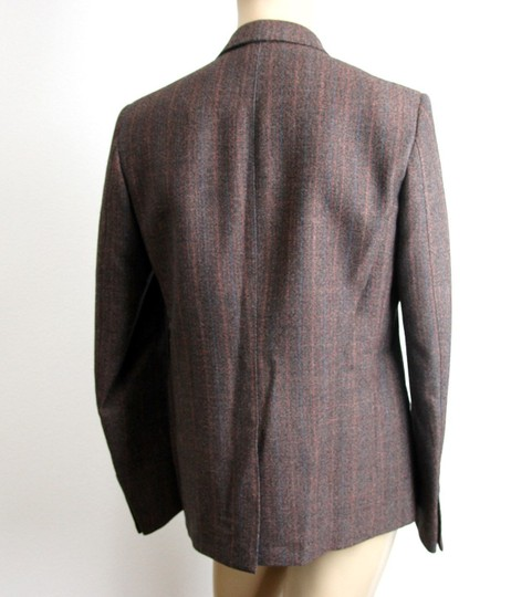 Gucci Brown New Men's Wool Suit Coat Jacket Blazer 50r/ Us 40r #296852 Groomsman Gift Image 3
