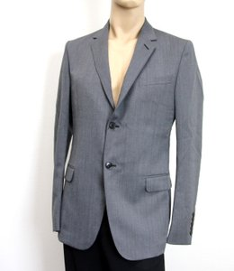 Gucci Gray New Men's Wool/ Mohair Coat Jacket Blazer Eu 50/ Us 40 295389 Groomsman Gift