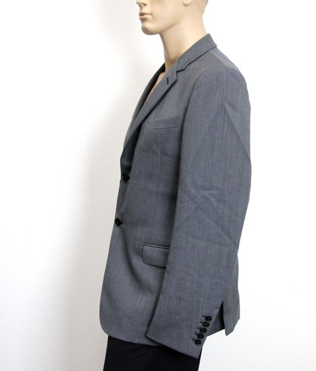 Gucci Gray New Men's Wool/ Mohair Coat Jacket Blazer Eu 50/ Us 40 295389 Groomsman Gift Image 1
