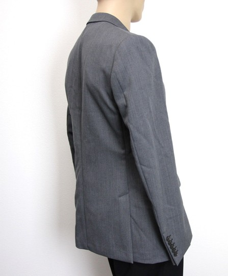 Gucci Gray New Men's Wool/ Mohair Coat Jacket Blazer Eu 50/ Us 40 295389 Groomsman Gift Image 2
