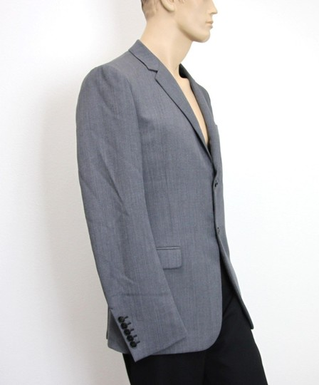 Gucci Gray New Men's Wool/ Mohair Coat Jacket Blazer Eu 50/ Us 40 295389 Groomsman Gift Image 3