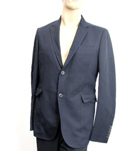 Gucci Navy New Men's Wool/Cotton Jacket Blazer Eu 50/ Us 40 268799 Groomsman Gift