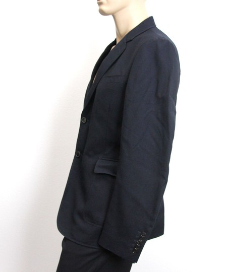 Gucci Navy New Men's Wool/Cotton Jacket Blazer Eu 50/ Us 40 268799 Groomsman Gift Image 1