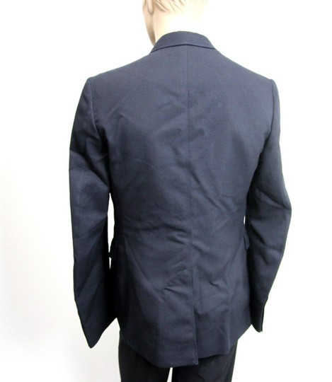 Gucci Navy New Men's Wool/Cotton Jacket Blazer Eu 50/ Us 40 268799 Groomsman Gift Image 3