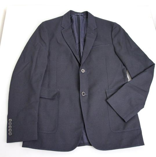 Gucci Navy New Men's Wool/Cotton Jacket Blazer Eu 50/ Us 40 268799 Groomsman Gift Image 4