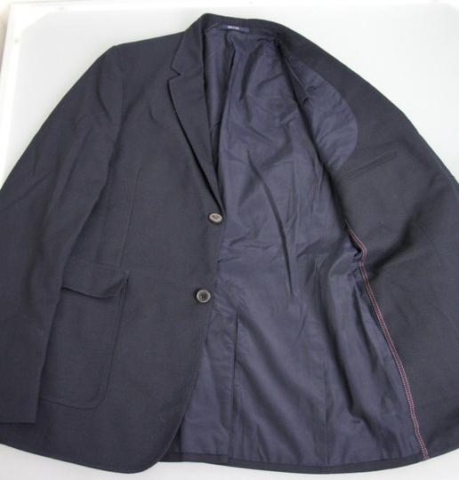 Gucci Navy New Men's Wool/Cotton Jacket Blazer Eu 50/ Us 40 268799 Groomsman Gift Image 5
