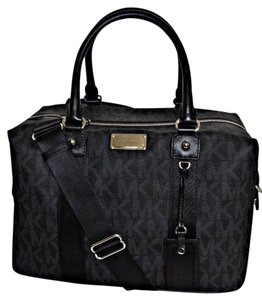 Michael Kors Travel Duffle Tote Weekender Travel Black Travel Bag