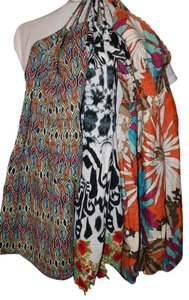 Mossimo Supply Co. short dress Multi Bohemian Bold Print Aztec Color-blocking on Tradesy