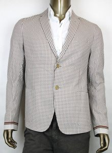 Gucci $2690 New Gucci Men's Jacket Eu 46 / Us 36 342321 2281