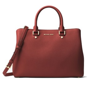 Michael Kors Satchel in Brick