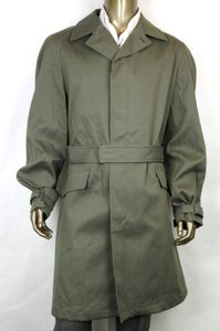 Gucci Green New Men's Trench Coat Blazer Army Eu 58/ Us 48 338313 3259 Groomsman Gift