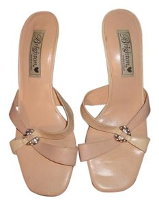 Brighton Soft Peach Leather Sandals