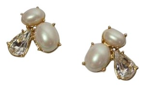 Kate Spade NEW!!! Faux Pearl Cluster Stud Earrings NWT!