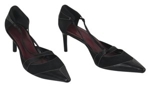 Cole Haan Mary Jane Strappy Sexy Black Pumps